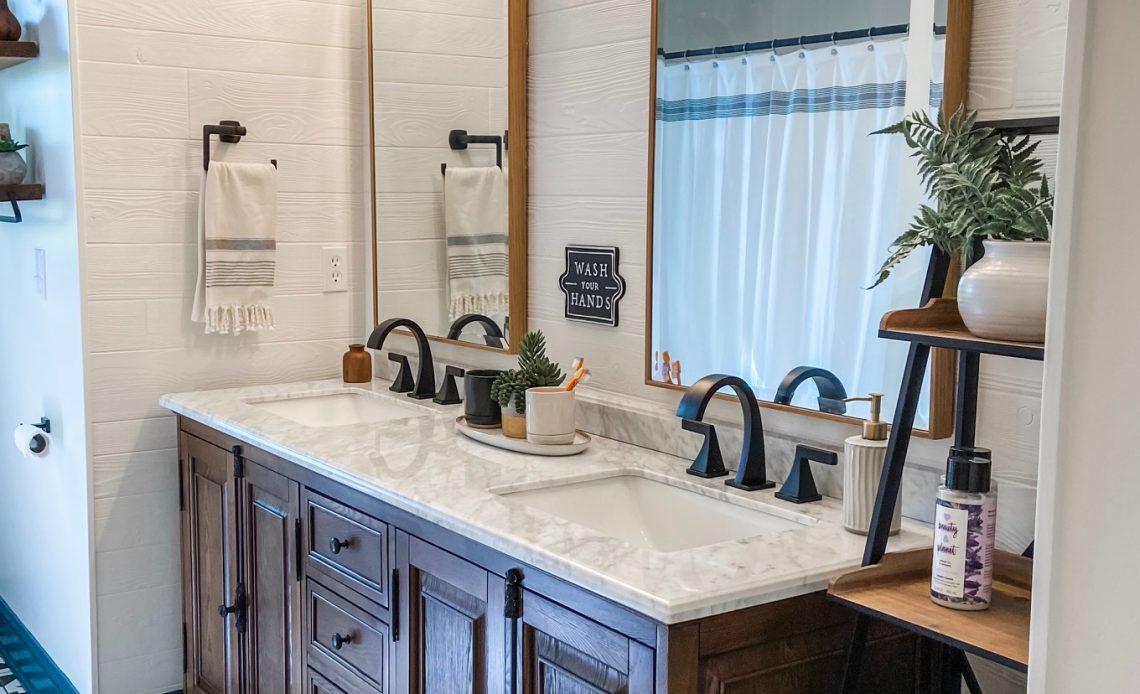 Boy S Bathroom Remodel Haggard Home